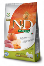 Корм для собак N&D мини эдалт беззерновой кабан с яблоком 800 гр.
